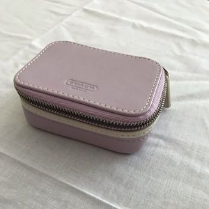 Coach travel pill case